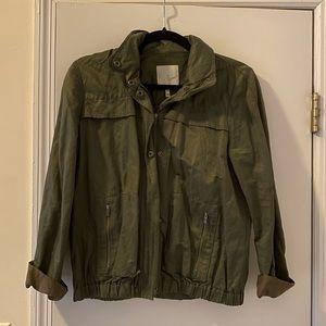 Joie utility jacket with zippable hood
